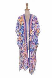 Multicolor Digitally Printed Kimono