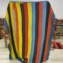 Straight Line Vintage Kantha Quilt