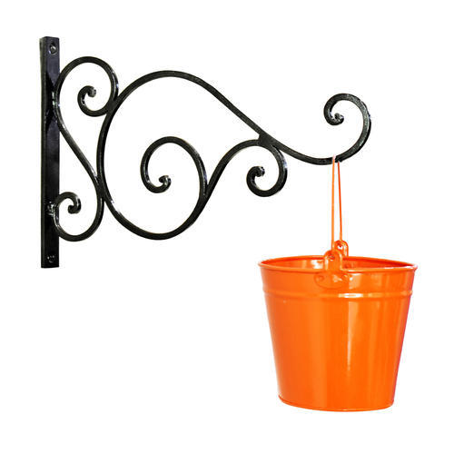 Metal Wall Bracket With Planter
