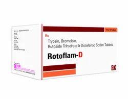 Trypsin Bromelain Rutoside & Diclo Potassium Tablets