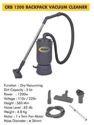 CRB 1200 Backpack Vacuum Cleaner