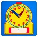 Student Clock Write and Wipe