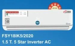 Foxsky Split Inverter Air Conditioner, For Home, Capacity: 1.5 Ton