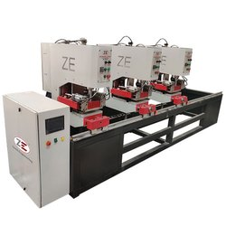 Three Head UPVC Seamless Welding Machine, Model Name/Number: Zup-gama-sm