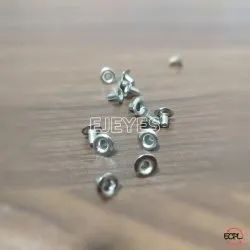 No. 2445 Mild Steel Eyelets Nickel