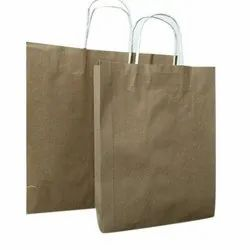 Brown Plain Handmade Craft Paper Bag, Capacity: 1-2 kg