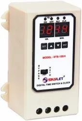 Digital Time Switch & Clock (DTS - 120/4)