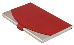 Steel Red Card Holder