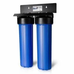 Bue Abs Plastic Double Water Filter Housing