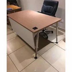 Brown Wooden Modular Portable Table