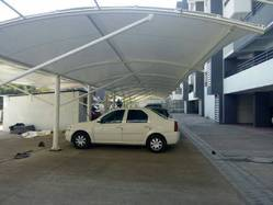 Tensile Fabric Parking Shed