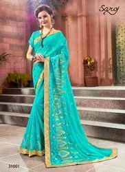 Party Heavy Designer Trendy Sarees