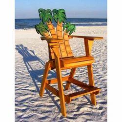 Beach Painted Chair