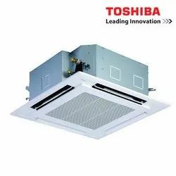 4 HP Toshiba Cassette Air Conditioner, Twin Rotary