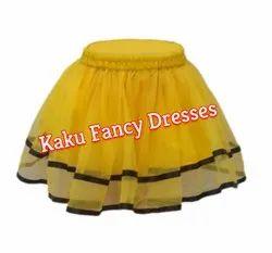 Kids Yellow Tutu Skirt