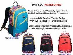 Multicolor Tuff Gear College Bags