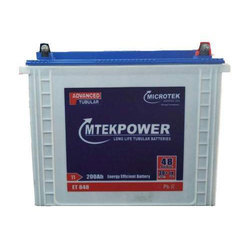 Microtek ET848 Tubular Battery