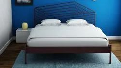 Metal Bed With Head Board