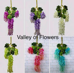 Artificial Wisteria Hanging for Event and Weddings