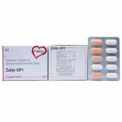 Glimepiride Pioglitazone and Metformin Hydrochloride Tablets