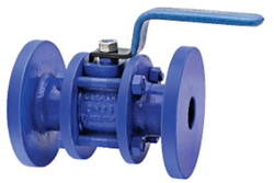 Deepak Valve Cast Iron Flanged Ball Valves, for Industrial, Size: 15mm - 100mm