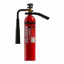 Red Aluminium Alloy Kanex CO2 Fire Extinguisher, Capacity: 4.5Kg
