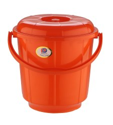 Plastic Handle Bathroom Bucket 16 Ltr