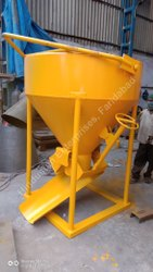 Hindustan Enterprises Cone Type Concrete Bucket 0.500 Cu.M. to 6 Cu.m.