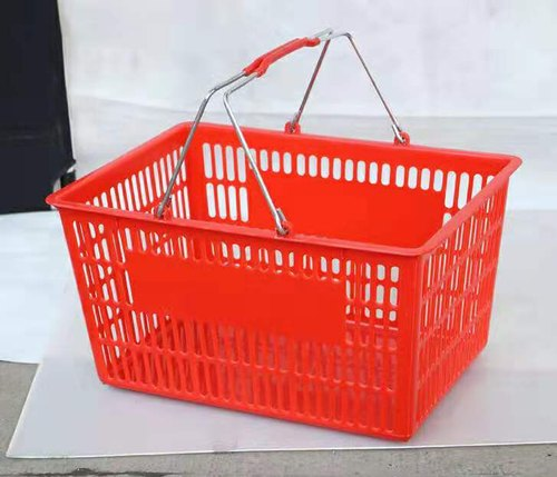 18Ltr Red Shopping Hand Basket