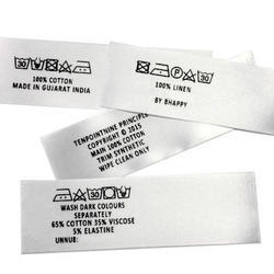 Fabric Printed Label