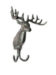 Wall Mount Deer Coat Stag Hook