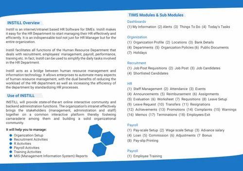 Tech Tammina Hr & Payroll Management Software   ID: 18460967473