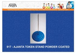 Blue 917 Ajanta Powder Coated Token Stand