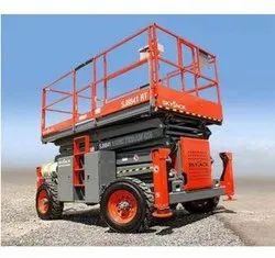 SJ 8841 RT Diesel Operated Scissor Lifts