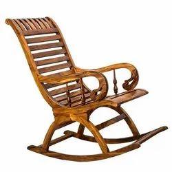 Sheesham Wooden Rocking Chair