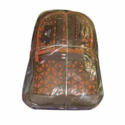 Polyester Printed Boys School Backpack