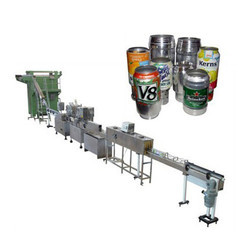 Automatic Can Rinsing Filling and Sealing Machine