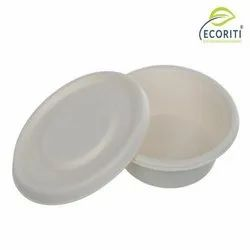Ecoriti Biodegradable Sugarcane Baggasse Disposable Bowl,Plates And Container