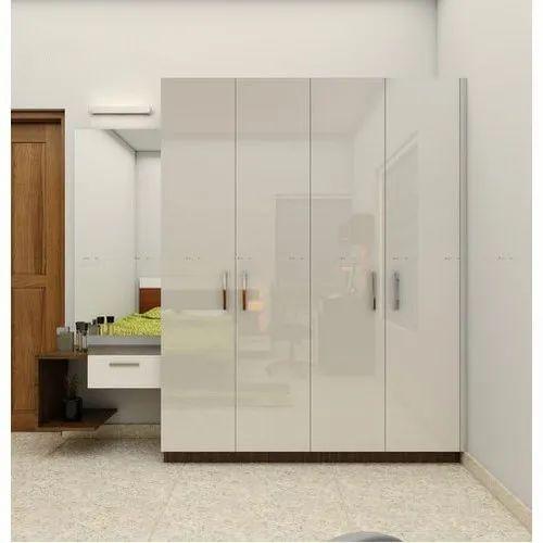 Interface Interiors White Designer Bedroom Wardrobe Rs 1500 Square Feet Id 21266911155