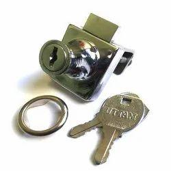 Uttam Stainless Steel Door Lock, Chrome