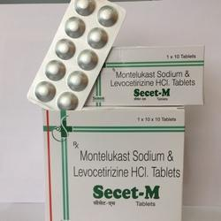 Montelukast Sodium And Levocetirizine HCL Tablets
