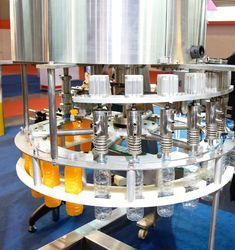 Synthetic Juice Filling Machine