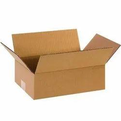 Kraft Paper Plain Corrugated Box, for Packaging, Box Capacity: 21-30 Kg