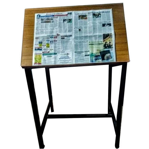 """On Site Smooth News paper reading stand, Size: 51.5""""h X 36""""w X 24""""d"""