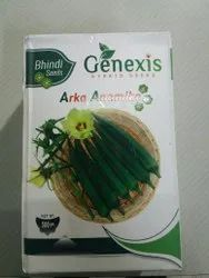 GENEXIS Himalaya Bhindi Seed for Agriculture, Pack Size: 500g