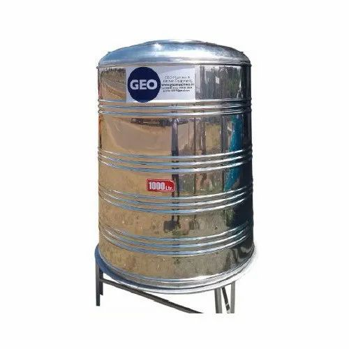 Stainless Steel Water Tank 1000 L Ss Water Tank Manufacturer From Coimbatore