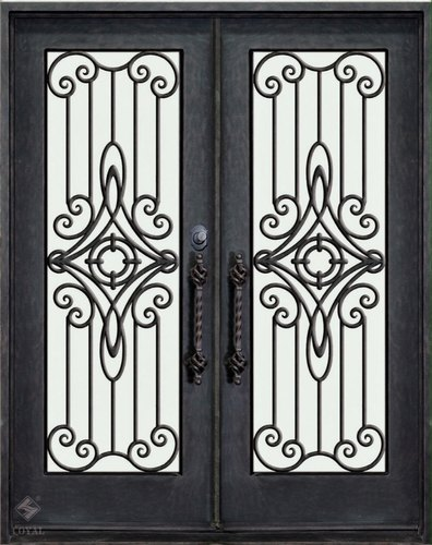 Fabricated Ms Gate Iron Main Gate Door Manufacturer From Ahmedabad