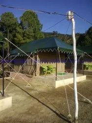 PVC SWISS COTTAGE TENTS