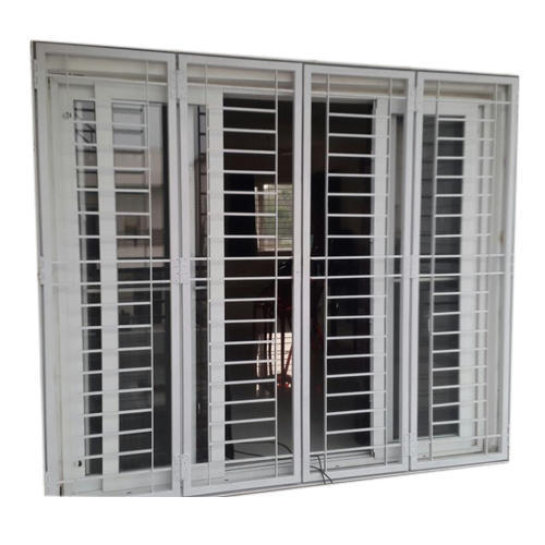 SS Stylish Window Grill At Rs 80 /square Feet