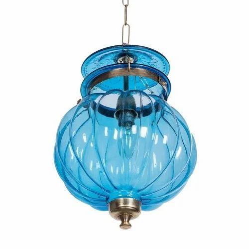 Glass Goan Melon Handi Lantern Hanging Light, Rs 225 /piece | ID ...